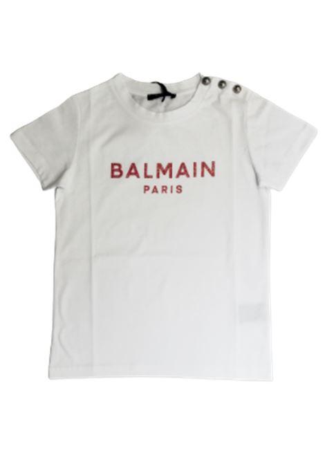 BALMAIN | T-shirt | 6O8211BIANCO