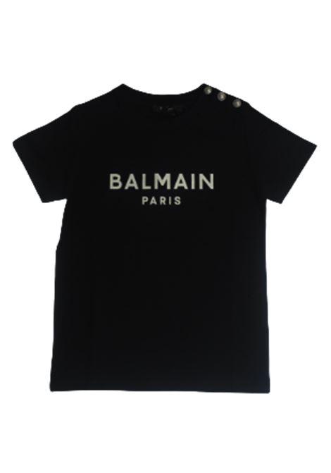 BALMAIN | T-shirt | 6O8211NERO