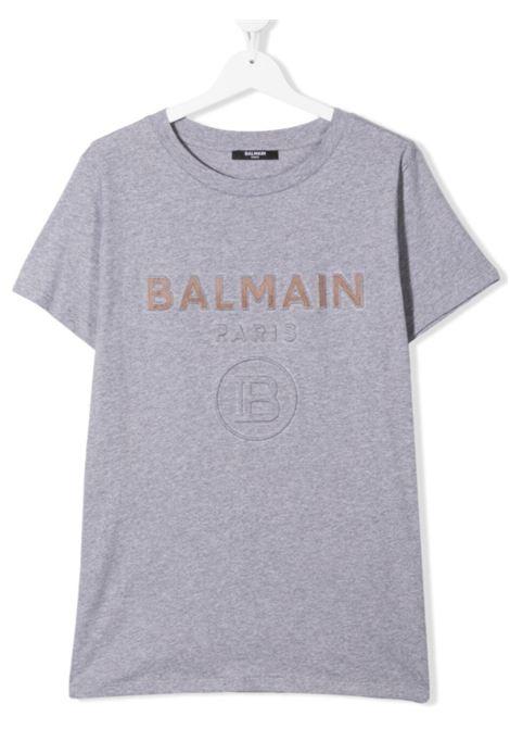 BALMAIN | T-shirt | 6O8521GRIGIO