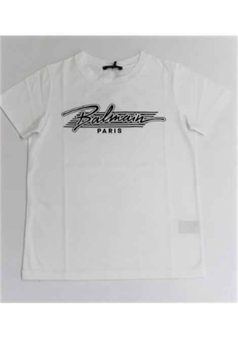 BALMAIN | T-shirt | 6O8641BIANCO