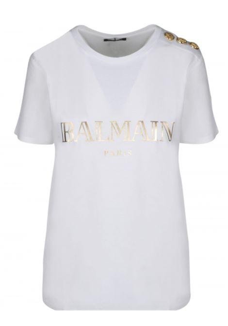 T-shirt Balmain BALMAIN | T-shirt | TF11350I366B.CO ORO