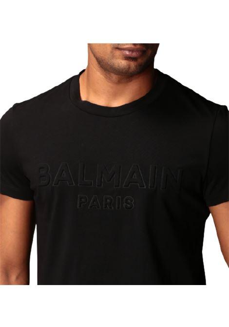 T-SHIRT BALMAIN BALMAIN | T-shirt | UH01601I335NERO