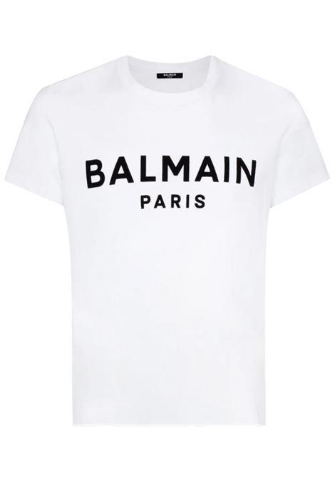 BALMAIN | T-shirt | UH11601I398BIANCO