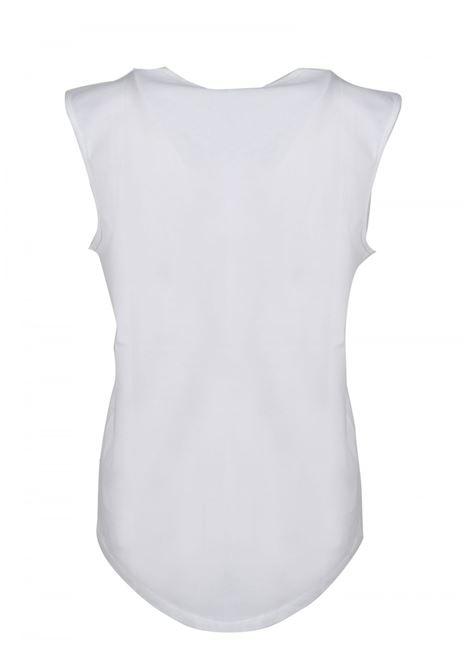 CANOTTA BALMAIN BALMAIN | T-shirt | VF0EB005B020BIANCO