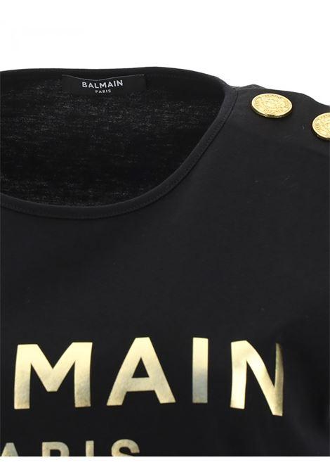 BALMAIN | T-shirt | VF0EB005B020NERO
