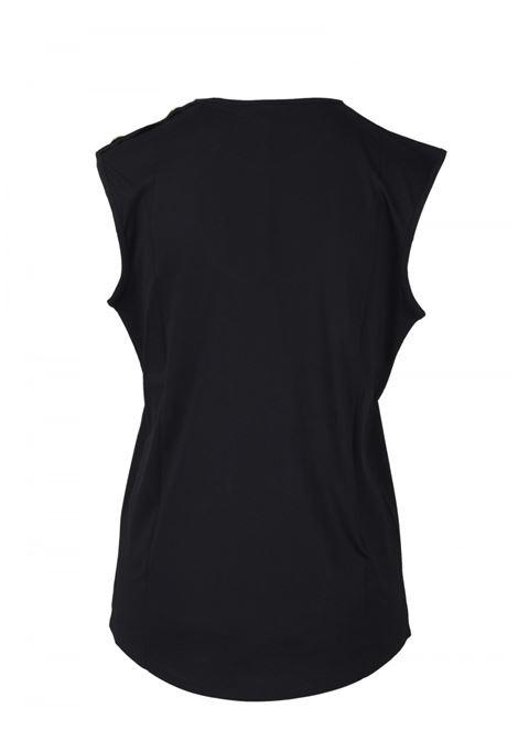 BALMAIN | T-shirt | VF0EB005B035NERO