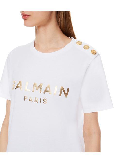 T-SHIRT BALMAIN BALMAIN | T-shirt | VF0EF005B020BIANCO