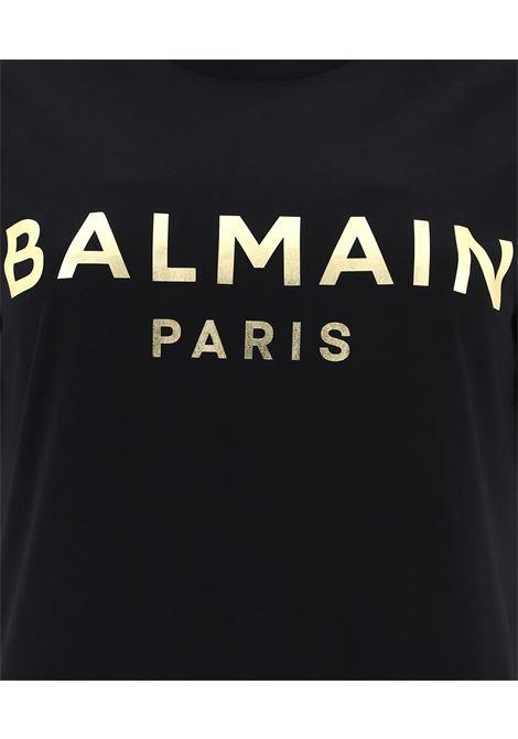 BALMAIN | T-shirt | VF0EF005B020NERO