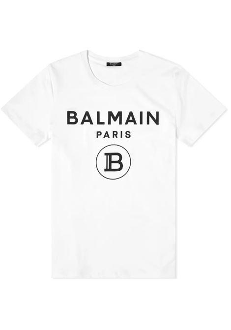 BALMAIN | T-shirt | VH0EF000B029BIANCO
