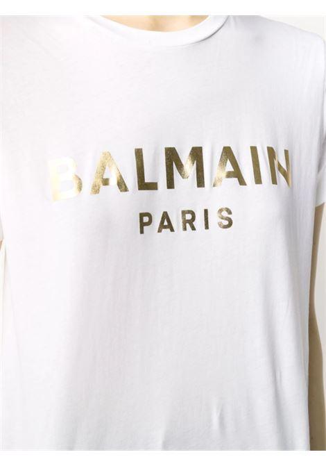 BALMAIN | T-shirt | VH1EF000B065BIANCO