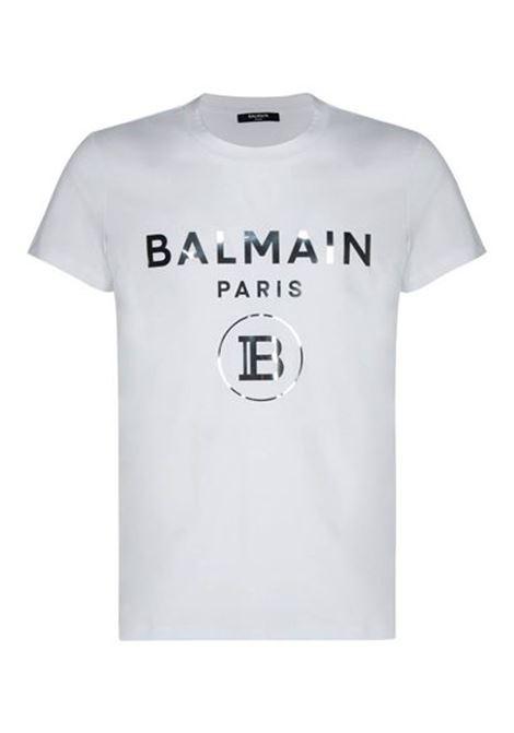 BALMAIN | T-shirt | VH1EF000B066BIANCO