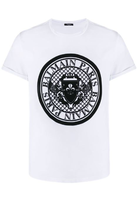 BALMAIN | T-shirt | VH1EF010B030BIANCO