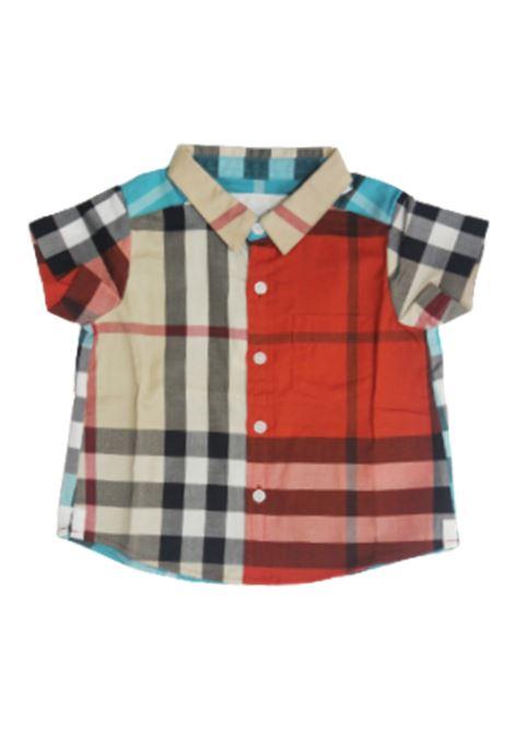 BURBERRY | shirt | 4047774BEIGE ARANCIO
