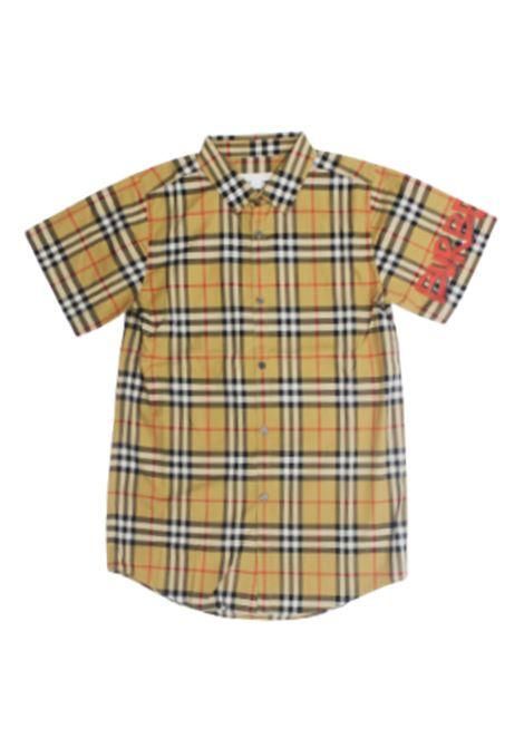 BURBERRY | shirt | 8001557CHECK BEIGE