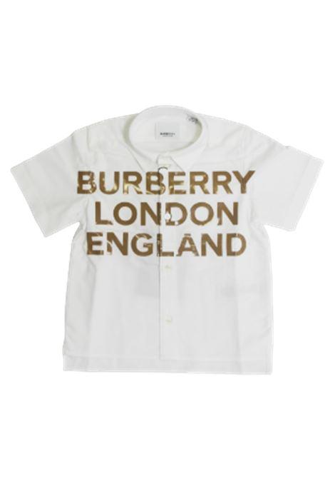 BURBERRY | shirt | 8026355BIANCO