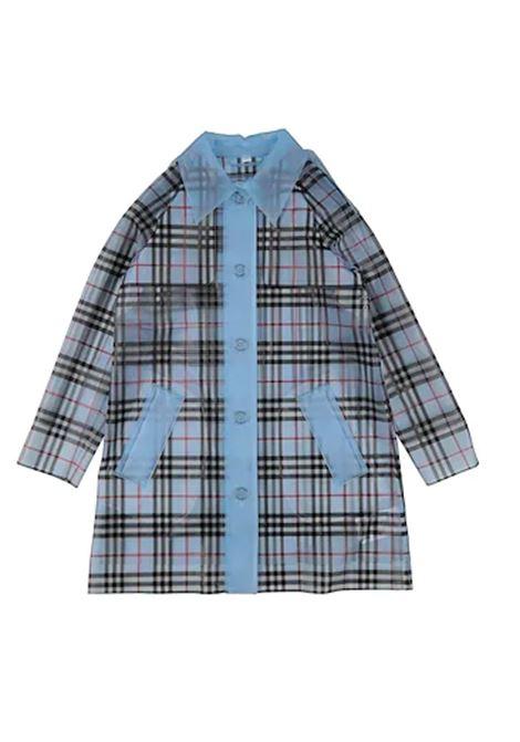 BURBERRY | jacket | 822601CHECK AZZURRO