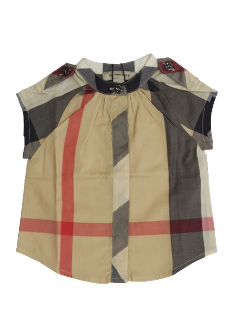 Camicia Burberry BURBERRY | Camicia | B05J27CHECK BEIGE