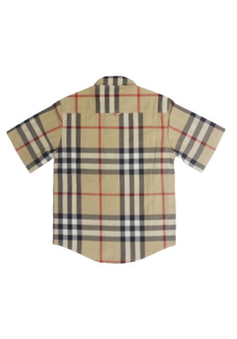 BURBERRY | shirt | B25911/21ACHECK BEIGE