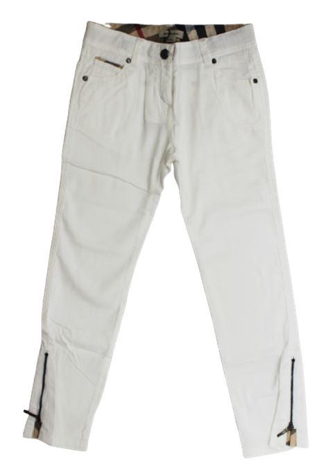 Pantalone Burberry BURBERRY | Pantalone | BUR160BIANCO