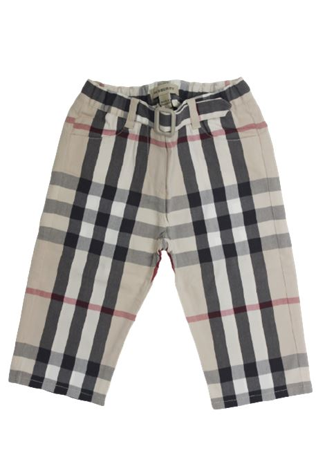 Pantalone Burberry BURBERRY | Pantalone | BUR162CHECK BEIGE