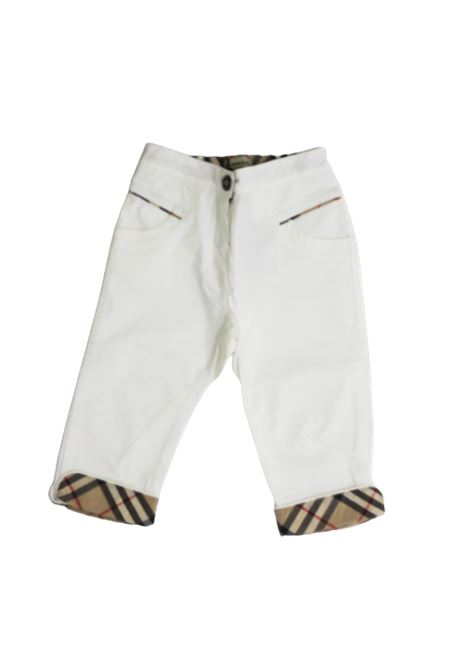 Pantalone Burberry BURBERRY | Pantalone | BUR167BIANCO