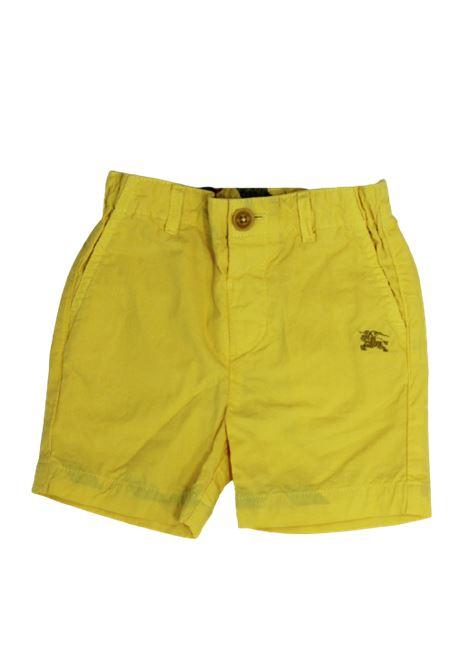 BURBERRY | Bermuda pants  | BUR177GIALLO