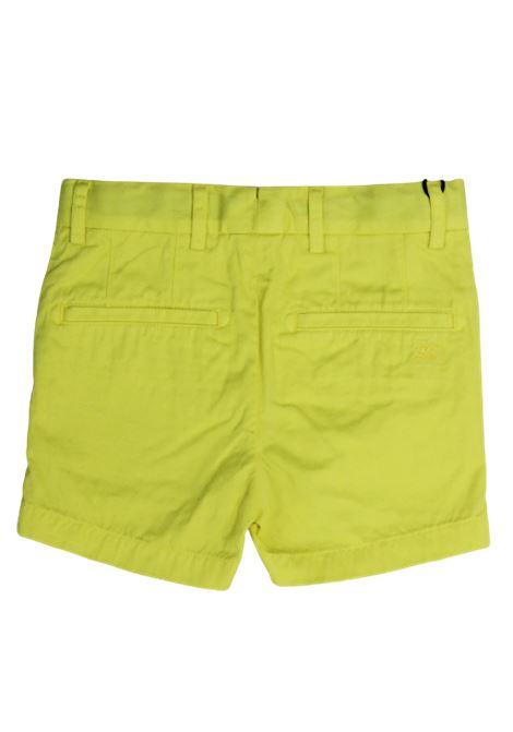 BURBERRY | Bermuda pants  | BUR188GIALLO LIME