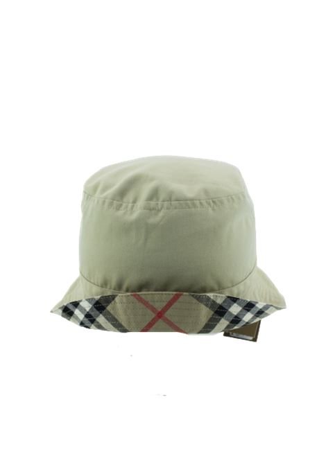 BURBERRY | hat | BUR312CHECK BEIGE