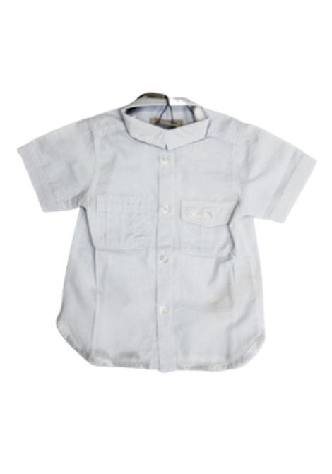 BURBERRY | shirt | BUR548AZZURRO