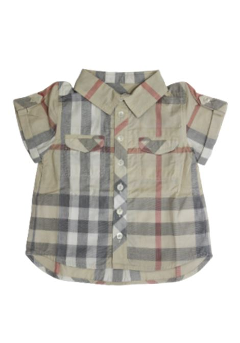 BURBERRY | shirt | BUR550CHECK BEIGE