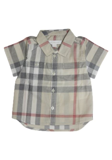 BURBERRY | shirt | BUR551CHECK BEIGE