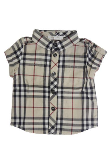 BURBERRY | shirt | BUR554CHECK BEIGE