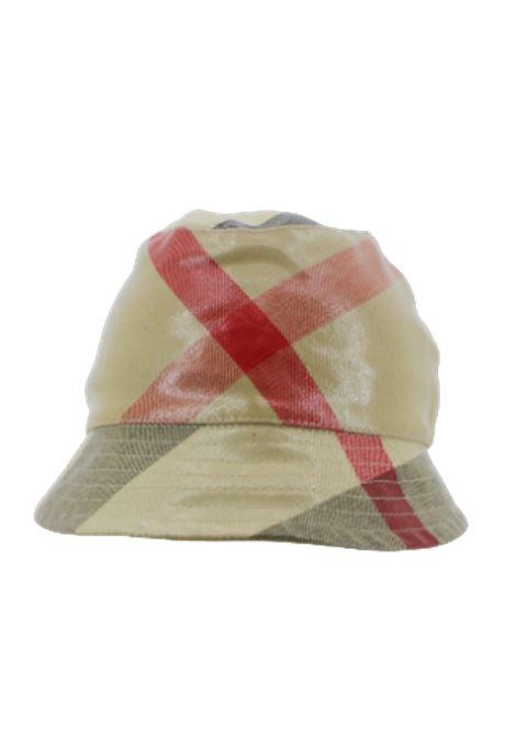 BURBERRY | hat | BUR565CHECK BEIGE