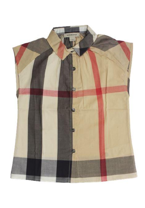 Camicia Burberry BURBERRY | Camicia | BUR572CHECK BEIGE