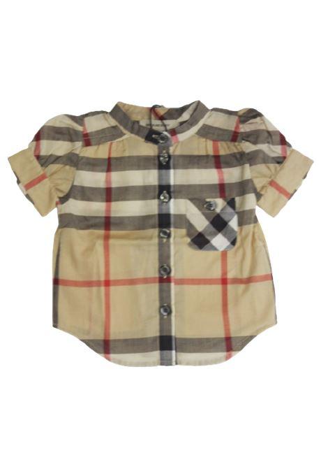 Camicia Burberry BURBERRY | Camicia | BUR574CHECK BEIGE