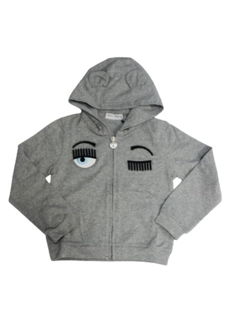 CHIARA FERRAGNI | sweatshirt | CFKF010GRIGIO
