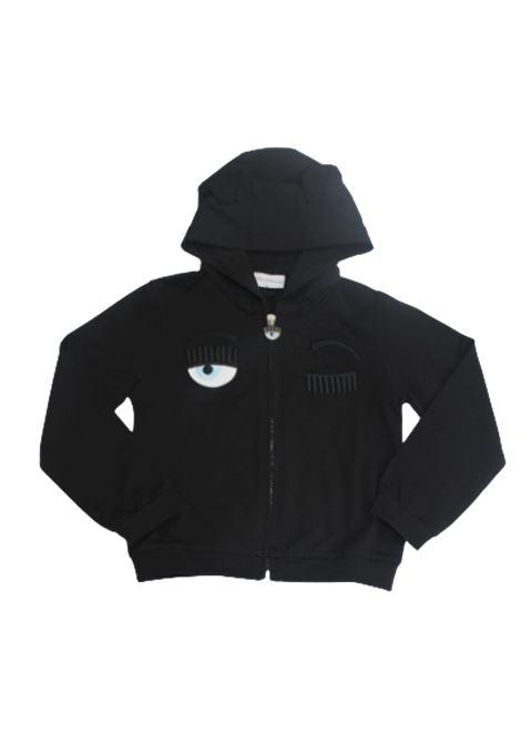 CHIARA FERRAGNI | sweatshirt | CFKF010NERO