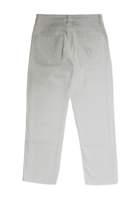 CHIARA FERRAGNI | trousers | CFKJS003BIANCO