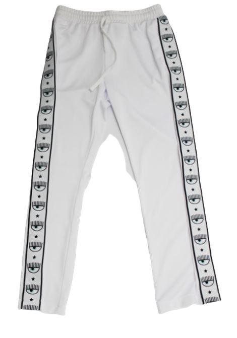 CHIARA FERRAGNI | trousers | CFKP002BIANCO