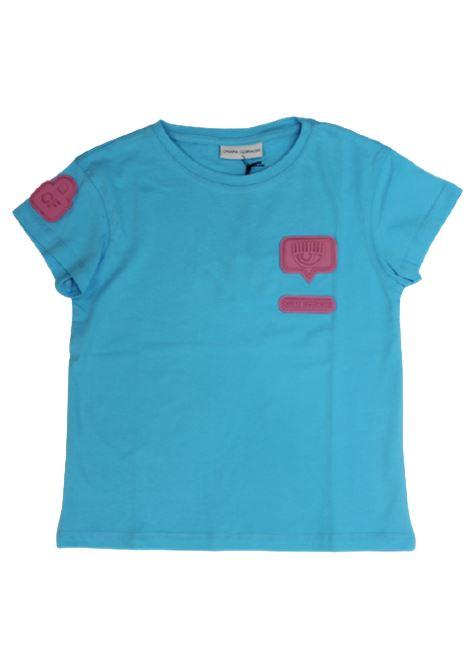 T-shirt Chiara Ferragni CHIARA FERRAGNI | T-shirt | CKKT017TURCHESE