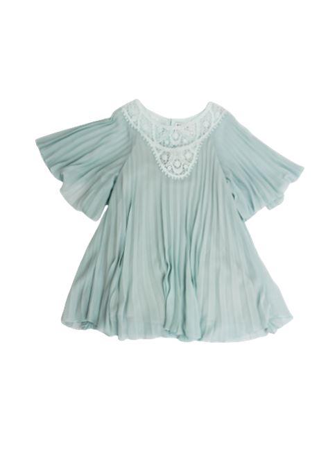 CHLOE'   Dress   CHL60VERDE ACQUA