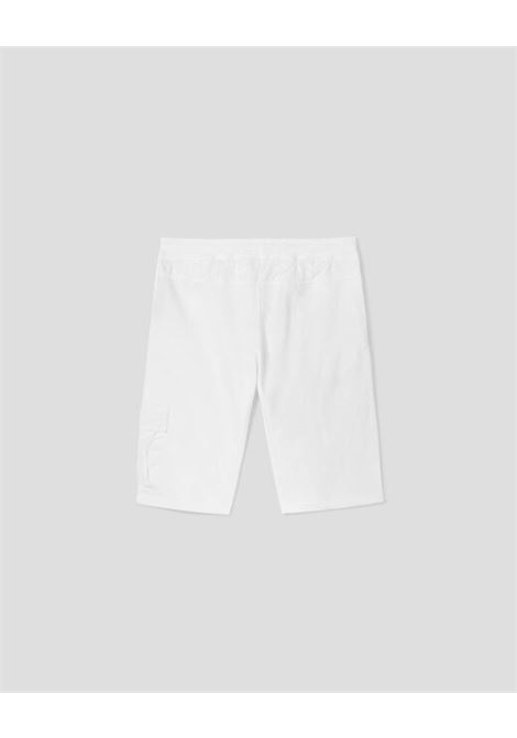 CP COMPANY | Bermuda pants  | 10CKSB029BBIANCO