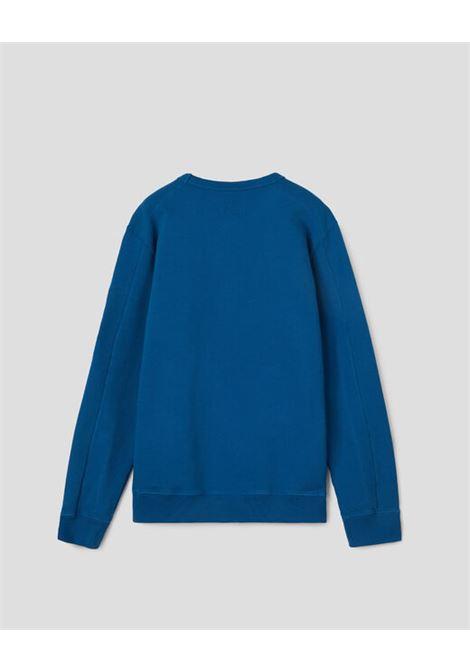 CP COMPANY | sweatshirt | 10CKSS058BBLUETTE