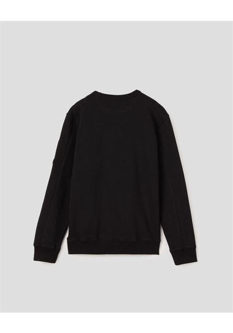CP COMPANY | sweatshirt | 10CKSS058BNERO