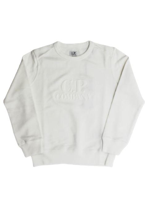 CP COMPANY | sweatshirt | 10CKSS062CBIANCO