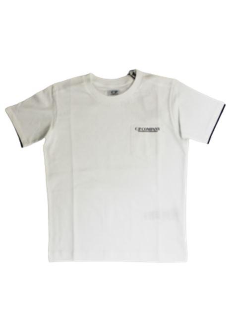 CP COMPANY | T-shirt | 10CKTS047CBIANCO