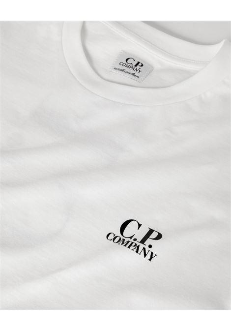 Felpa CP Company CP COMPANY | T-shirt | 10CKTS051CBIANCO