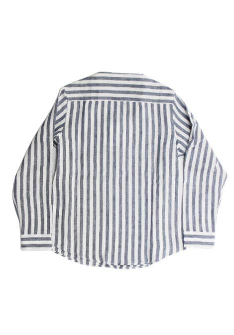 CUCINELLI | shirt | BW610C330BRIBGA B.CO AZZURRO