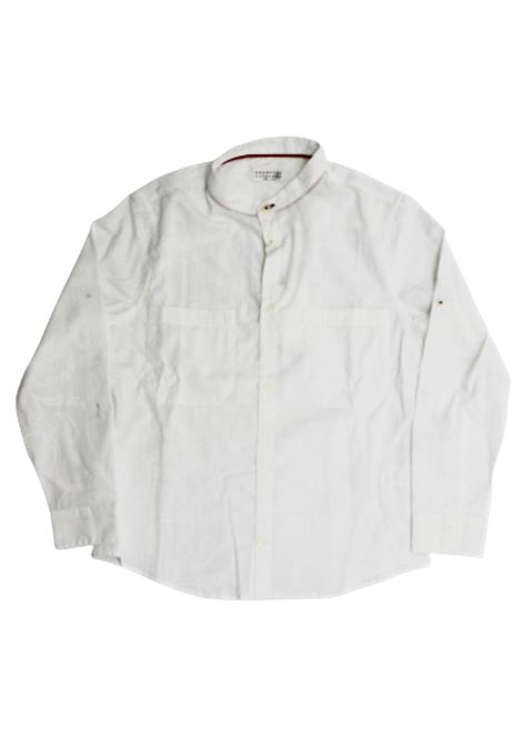 CUCINELLI | shirt | BW617C330BBIANCO