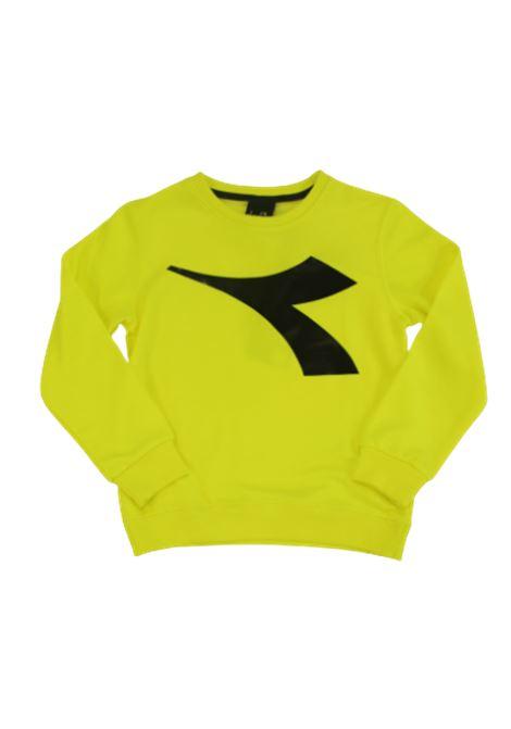 DIADORA | sweatshirt | 022277GIALLO FLUO